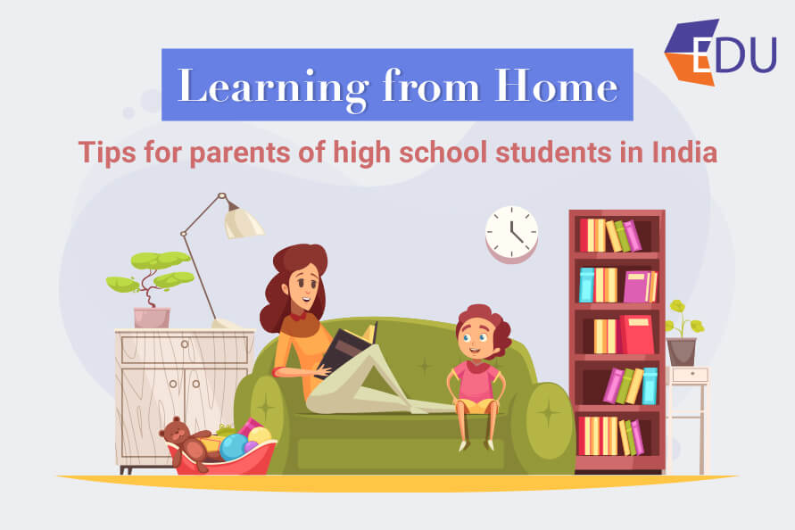 learning from home- Importance tips for parents of high school students